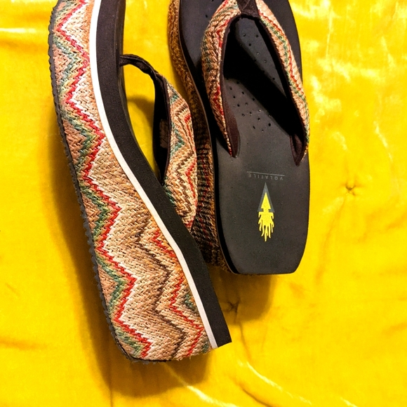 Wedge woven sandals!!🌼❤️